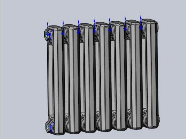 光排管热水散热器小科普
