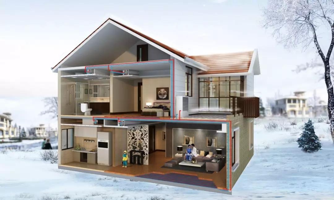 舒适采暖生活,空调、热泵两联供应该如何选?