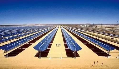 上锅已恢复迪拜950MW光热光伏混合发电项目蒸汽发生装置锅炉部件生产