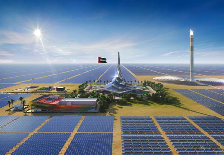 迪拜950MW光热光伏混合发电项目疫情中有序推进