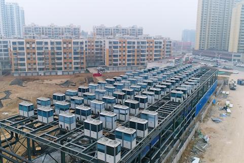 纽恩泰赵县超大型空气能采暖项目开辟考察直通车
