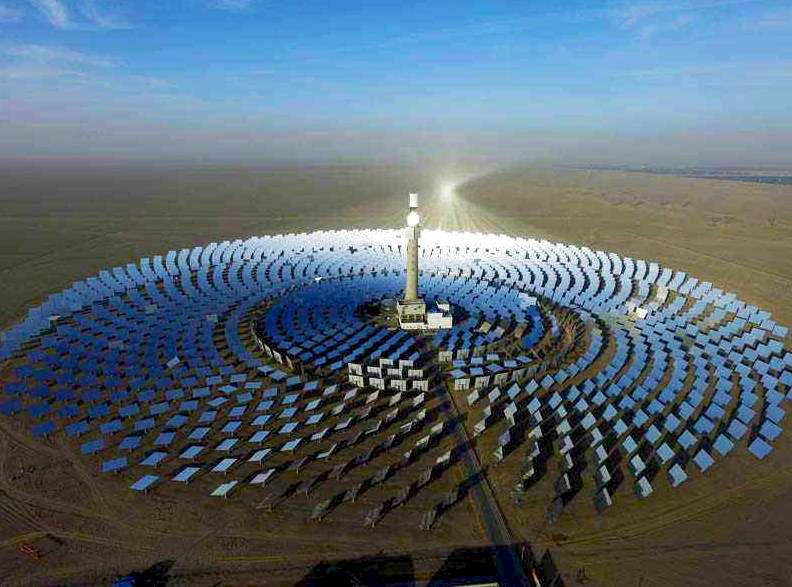 构建西部大开发新格局:光热发电成西部能源重要支撑