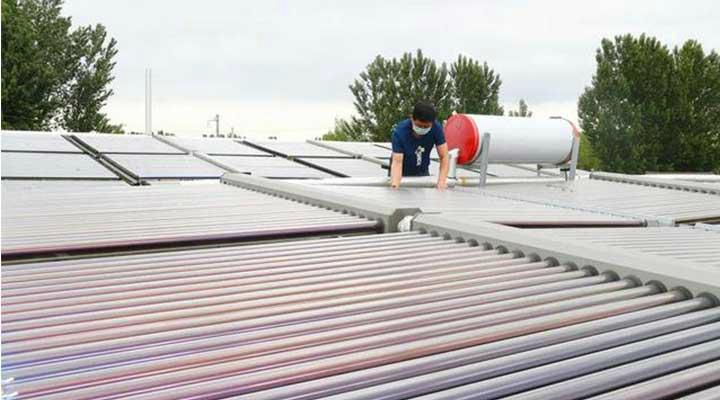 顺义区太阳能与地源热泵综合供热技术获国家专利!