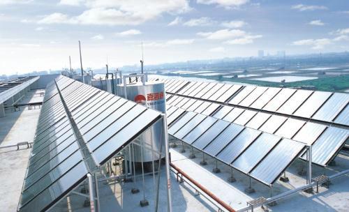 平板太阳能热水器安装操作