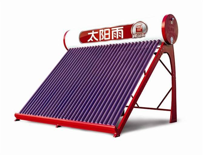 屋顶上的太阳能热水器什么时候上水好?