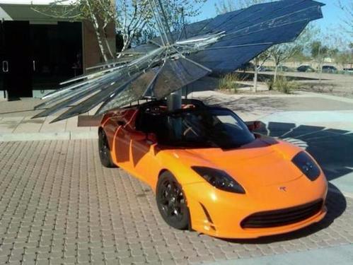 特斯拉Cybertruck太阳能电池板配件效果图 每天可增程24公里