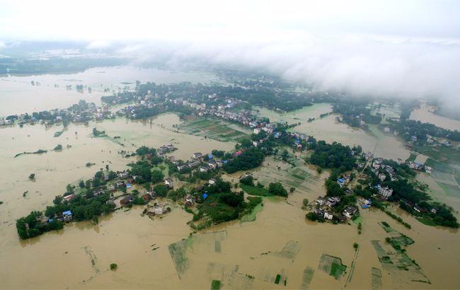 安徽阜南县一光伏电站被淹 损失将近25万元