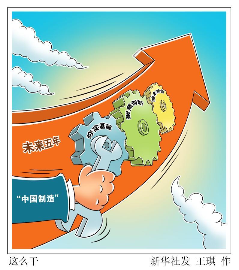"""加强""""底盘""""支撑、构筑新支柱,未来五年""""中国制造""""这么干!"""